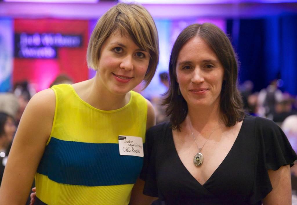 Lisa Hale (right) with Jodie Martinson
