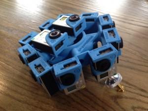Gear from Owen's VR journalism project.